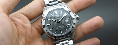 Tag Heuer Aquaracer Automatic Calibre 5 Grey Dial 40.5 mm