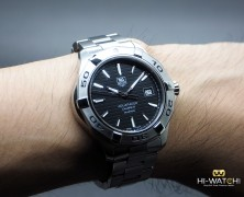 Tag Heuer Aquaracer 300M Automatic Calibre 5 Black Dial 41 mm