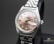 Rolex Datejust Lady Jubilee Champagne Diamond Dial 27 mm