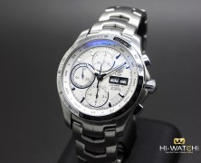 Tag Heuer Link Day-Date Automatic Calibre 16 White Dial 42 mm