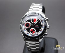 Omega Speedmater Automatic Chronograph Date Black-Red Dial 40 mm