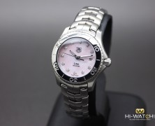 Tag Heuer Link Lady Pink MOP Diamond 27 mm