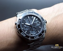 Tag Heuer Aquaracer Automatic Chronograph Calibre 16 Black Ceramic 43 mm