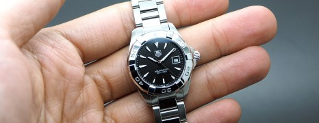 Tag Heuer Aquaracer Lady Black Dial 27 mm