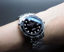 Omega Seamaster Diver 300 m Automatic Co-Axial Black Ceramic Dial 41mm