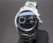 Tag Heuer Link Black Dial Automatic Calibre 16 Day-Date 42 mm