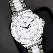Tag Heuer F1 Lady White Ceramic Full Diamond 32 mm