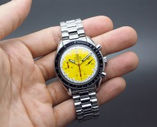 Omega Speedmaster Automatic Chronograph MICHAEL SCHUMACHER Yellow Dial 39 mm