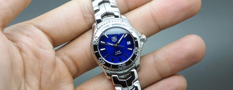 Tag Heuer Link Lady Dark Blue Dial 27 mm