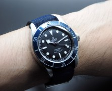 Tudor Heritage Black Bay Blue 41 mm