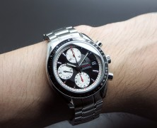Omega Speedmaster Automatic Chronograph Date Black-White Dial 40 mm