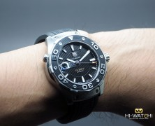 Tag Heuer Aquaracer 500M Leonardo Automatic Calibre 5 Black Dial 43 mm