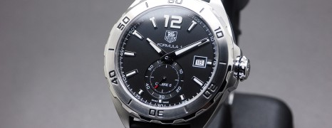 Tag Heuer F1 Automatic Calibre 6 Black Dial 41 mm