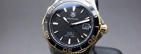 Tag Heuer Aquaracer 500M 2K Automatic Calibre 5 Black Ceramic 41 mm