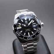 ​Tag Heuer Aquaracer 300M Automatic Calibre 5 Black Ceramic 41 mm รุ่นใหม่ชนช๊อป!!