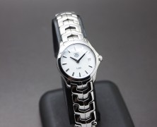 Tag Heuer Link Lady White MOP 27 mm