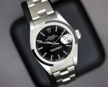 Rolex Lady Date Black Dial 26 mm Ref.79160
