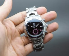 Tag Heuer Link Automatic GMT Calibre 7 Black Dial 42 mm