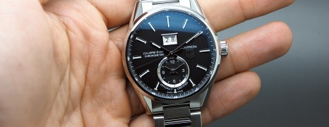 Tag Heuer Carrera Automatic GMT Calibre 8 41 mm