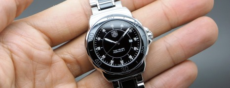 Tag Heuer F1 Lady Black Ceramic Diamond 32 mm