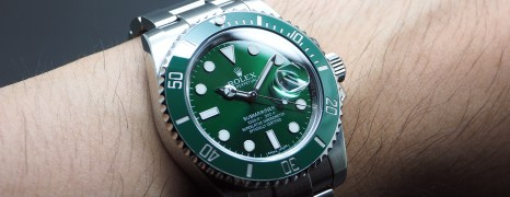 Rolex Submariner Date Green Ceramic 116610LV 40 mm (The Hulk)