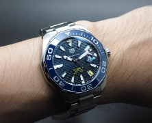 Tag Heuer Aquaracer 300M Automatic Calibre 5 Blue Ceramic 43 mm รุ่นใหม่ชนช๊อป!!