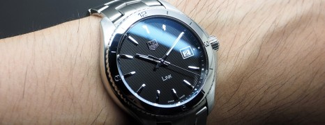 Tag Heuer Link Quartz Black Dial 40 mm New Model