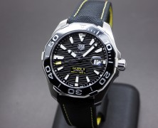 Tag Heuer Aquaracer Black Ceramic Automatic Calibre 5 43 mm
