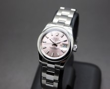 Rolex Datejust Lady Pink Dial 26 mm REF.179160 Series Scramble 2016