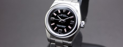 Rolex Oyster Perpetual Lady Black Dial 26 mm Ref.176200