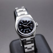 Rolex Oyster Perpetual Lady Black Dial 26 mm Ref.176200 Series M