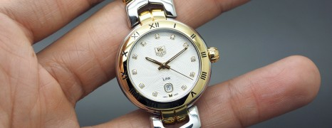 Tag Heuer Link Lady 2K Diamond Guilloche Dial 29 mm