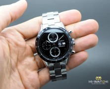 Tag Heuer Carrera Automatic Chronograph Calibre 16 Black Dial 41 mm