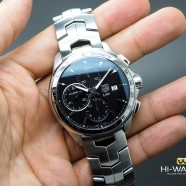 Tag Heuer Link Automatic Chronograph Calibre 16 Black Dial 42 mm