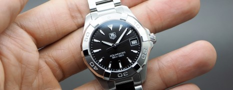 Tag Heuer Aquaracer Black Dial Boy Size 32 mm