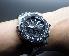 Tag Heuer Aquaracer 500M Leonardo Automatic Calibre 16 Black Dial 43 mm