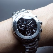 Tag Heuer Link Quartz Chronograph Black Dial 42 mm