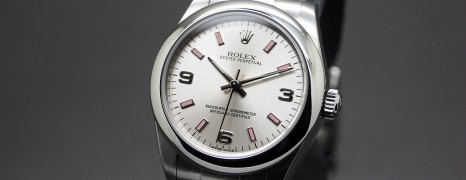 Rolex Oyster Perpetual Lady Silver Dial 31 mm Ref.177200