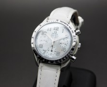 Omega Speedmaster Reduced Automatic Chronograph White MOP 39 mm