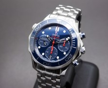 Omega Seamaster Diver 300M Co-Axial Chronograph Blue Ceramic 41.5 mm