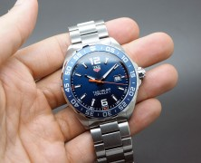 Tag Heuer F1 Quartz Blue Dial Orange Hand 43 mm