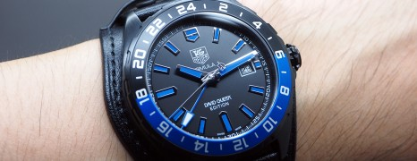 "Tag Heuer F1 Automatic GMT Calibre 7 43 mm ""David Guetta's Special Edition"""