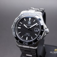 Tag Heuer Aquaracer Black Ceramic Automatic Calibre 5 41 mm