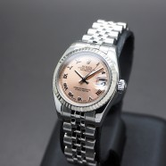 Rolex Datejust Lady Jubilee Champagne Dial 26 mm Ref.179174 Series D