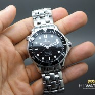 Omega Seamaster Diver 300 m Automatic Co-Axial Black Dial 41 mm