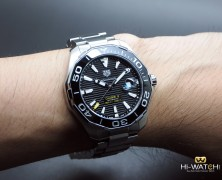 Tag Heuer Aquaracer 300M Automatic Calibre 5 Black Ceramic 43 mm รุ่นใหม่ชนช๊อป!!