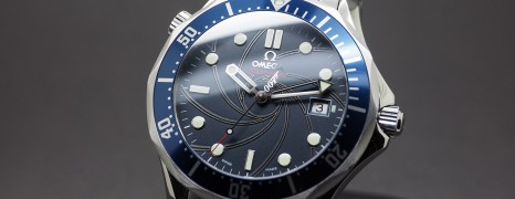 Omega Seamaster Diver 300M Co-Axial James Bond 007 Limited Edition 41 mm