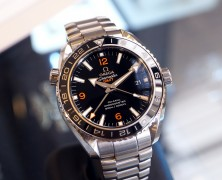 Omega Seamaster Planet Ocean 600M Co-Axial GMT Black Ceramic 43.5 mm Ref. 232.30.44.22.01.002