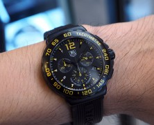 Tag Heuer F1 Quartz Chronograph Black/ Yellow Dial 42 mm