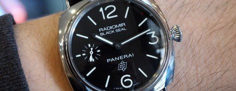 Panerai 380 Radiomir Black Seal 45 mm S.S